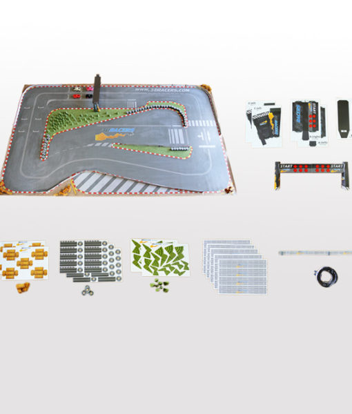 Official 3DRacers Track Mat for RC Cars